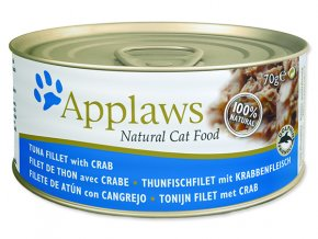 Applaws Konzerva Cat Tuna & Crab 70g