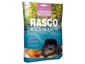 Pochoutka RASCO Premium mini kosti z kuřecího masa 230g