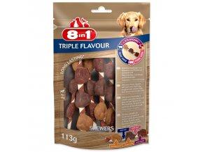 Špíz žvýkací 8in1 Triple Flavour