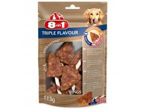 Křidýlko žvýkací 8in1 Triple Flavour
