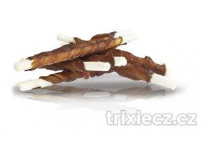 kachní maso na tyčce