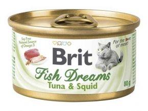 brit care fish dream tunak kalmary