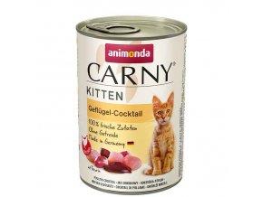 ANIMONDA Carny kitten drůbeží směs 200g