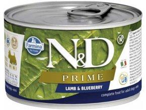 nd lamb blueberry 140g