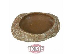 Trixie terar miska