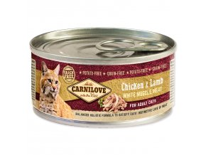 CARNILOVE Chicken & Lamb for Adult Cats 100g