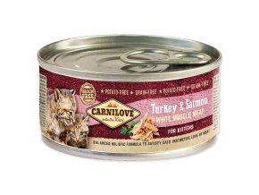 CARNILOVE Turkey & Salmon for Kittens 100g