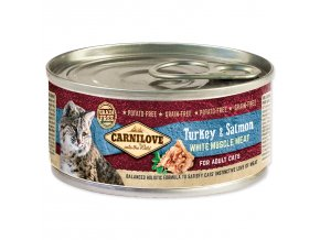CARNILOVE Turkey & Salmon for Adult Cats 100g