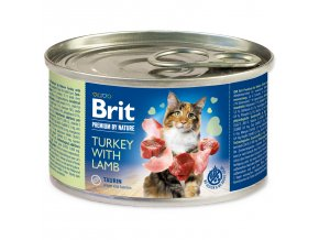 BRIT Premium by Nature Turkey with Lamb 200g