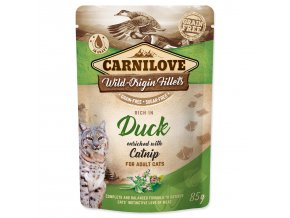 CARNILOVE Cat Rich in Duck enriched with Catnip 85g
