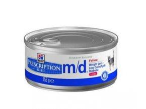 Hills Feline M/D 156 g konzerva