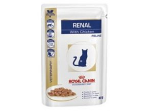 Royal Canin VD Cat Renal chicken 85 g kapsička