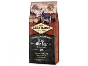 CARNILOVE Lamb & Wild Boar for Adult 12 kg