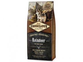 CARNILOVE Reindeer for Adult 12 kg