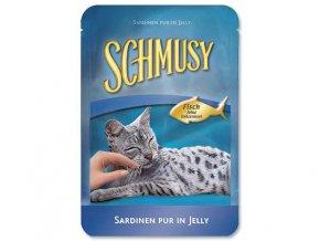 SCHMUSY Kapsička Fish sardinky v želé 100g