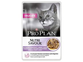 Pro Plan Cat kapsička Delicate Turkey 85 g