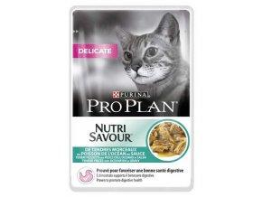 Pro Plan Cat kapsička Delicate Ocean Fish 85 g