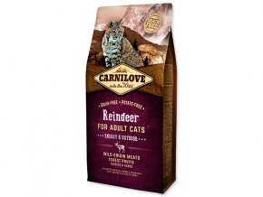 Carnilove Reindeer Adult Cats – Energy and Outdoor 6kg
