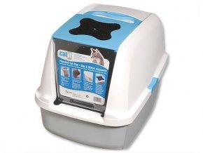 Toaleta CAT IT Design modrá