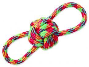 Přetahovadlo DOG FANTASY osmička barevné bavlna + uzel