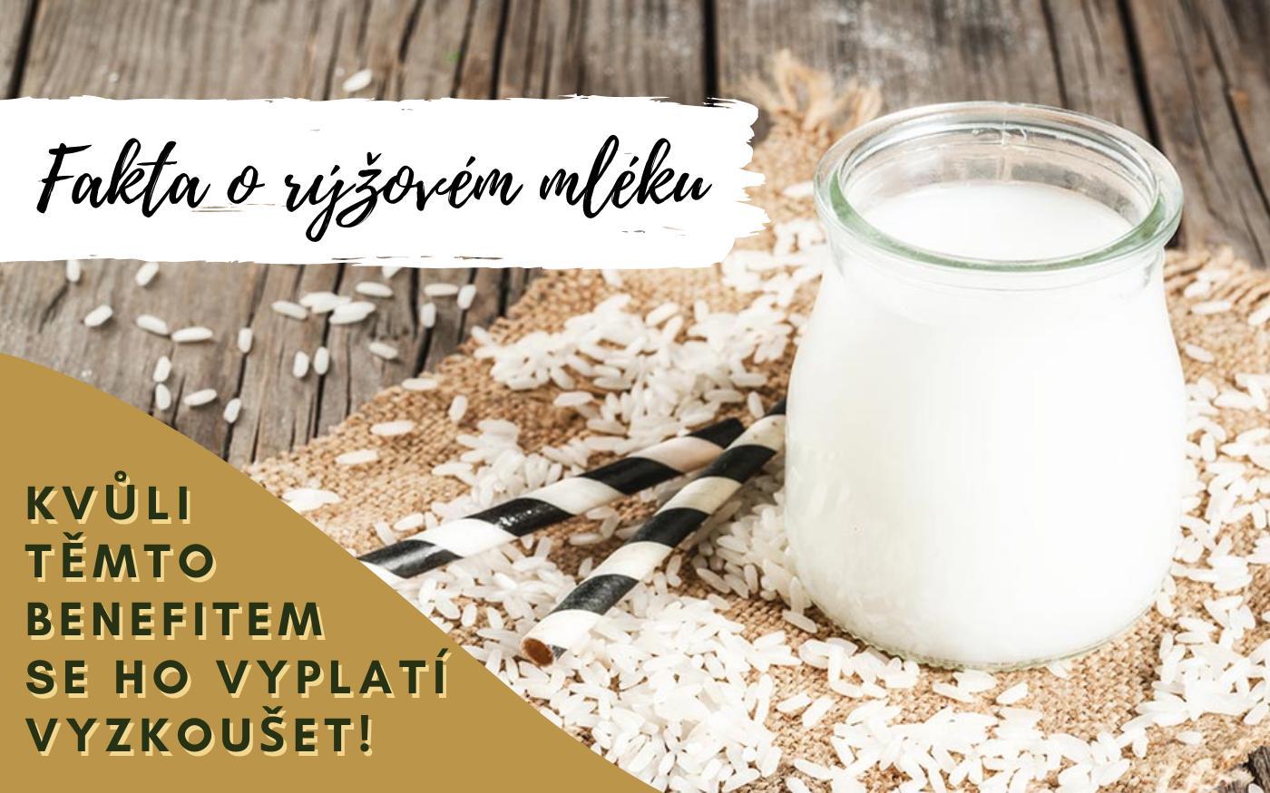 Fakta o rýžovém mléku - kvůli těmto benefitem se ho vyplatí vyzkoušet!