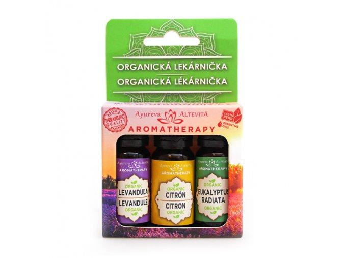 altevita set olejov organicka lekarnicka