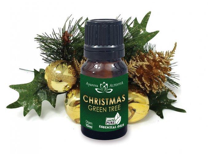 356 altevita zmes esencialnych olejov christmas green tree zelene vianoce 10ml