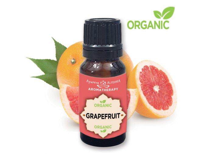 365 altevita 100 esencialny olej organic grapefruit olej energie a povzbudenia 10ml