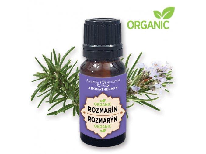 527 altevita 100 esencialny olej organic rozmarin olej vedomosti 10ml