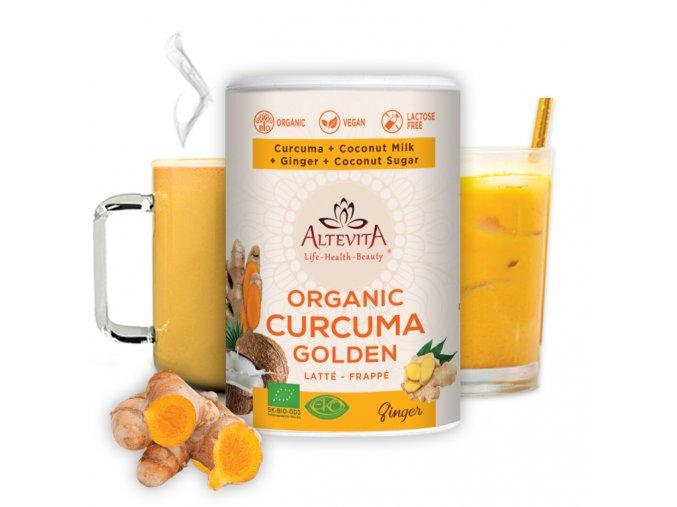 686 altevita bio curcuma golden latte frappe 220g