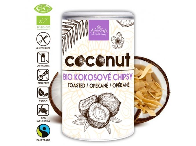 692 altevita bio kokosove chipsy 100g