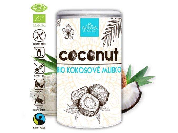 677 altevita bio kokosove mlieko 160g