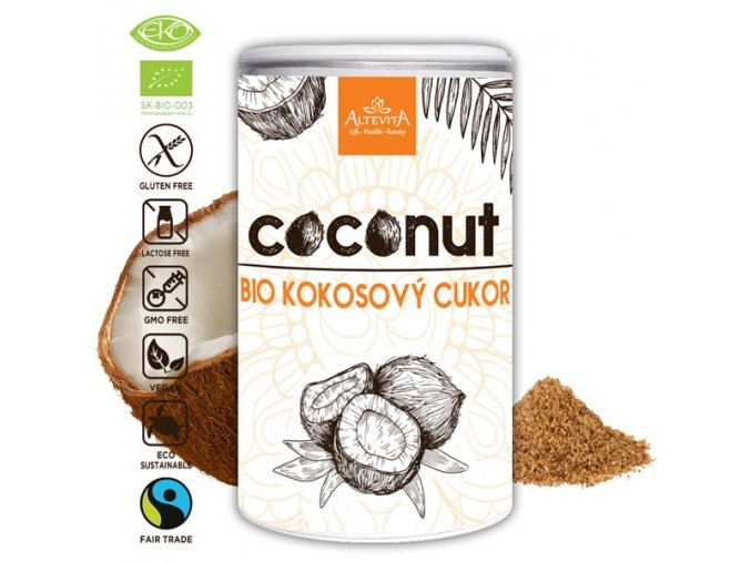 680 altevita bio kokosovy cukor 220g