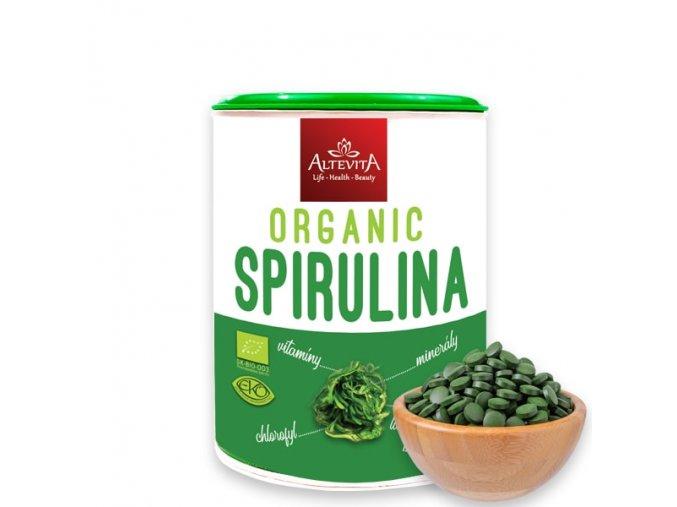 1235 altevita bio organic spirulina 160g 320 tabliet
