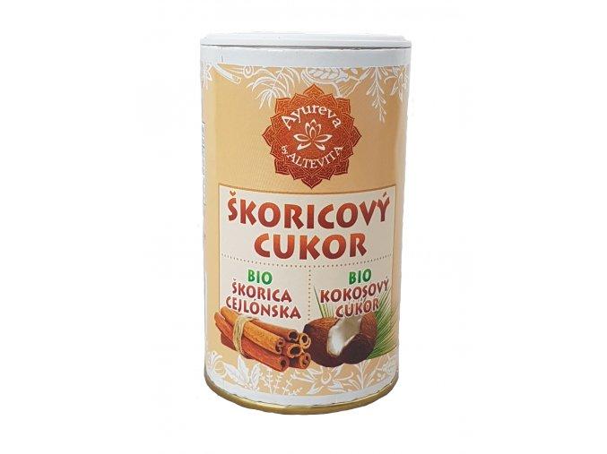2162 altevita bio skoricovy cukor kokosovy v cukornicke 100g