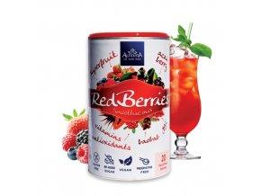 2033 altevita redberries smoothie mix 140g