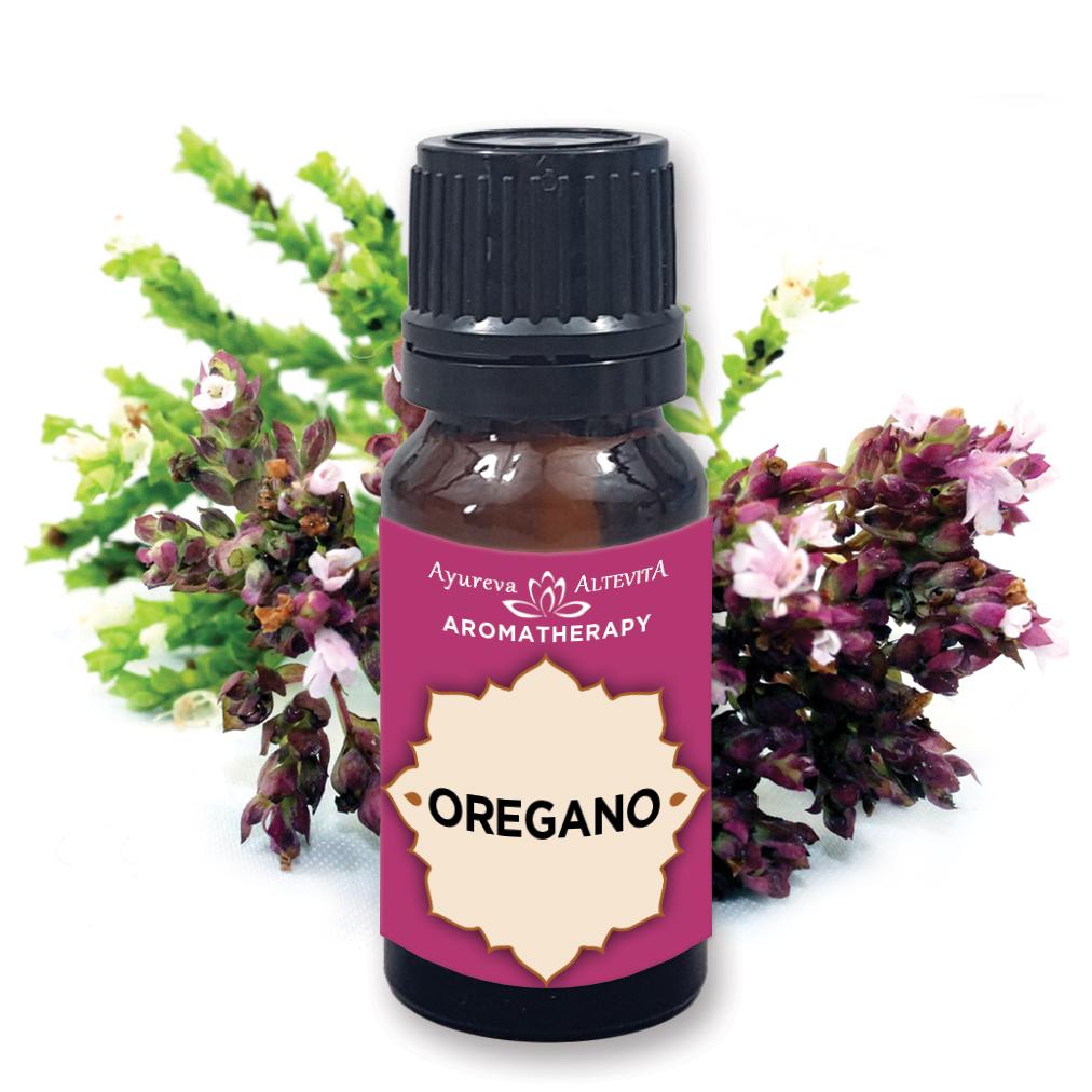 Altevita 100% esenciální olej OREGANO - Olej bojovníků 10ml