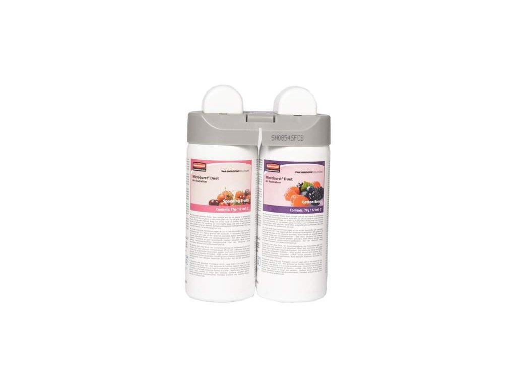 Náplň Sparkling Fruits / Cotton Berry 2x121 ml