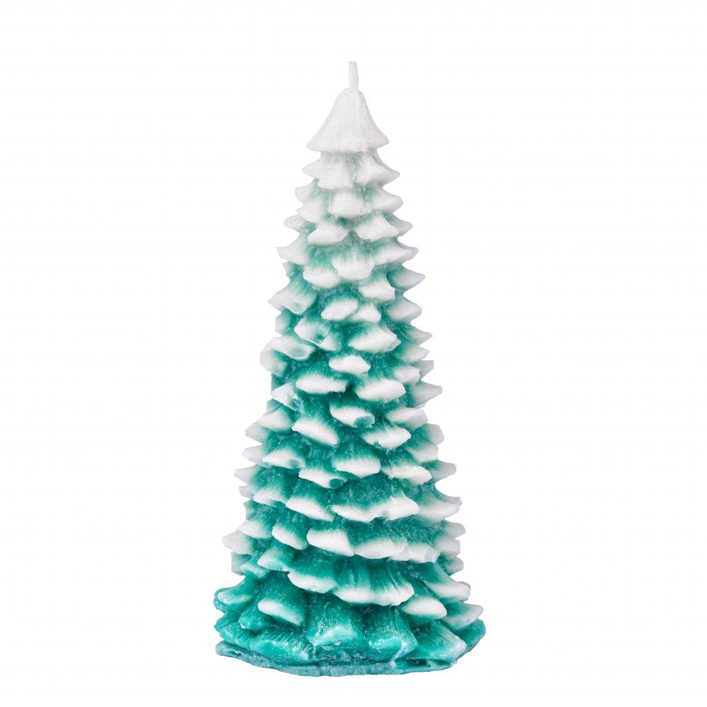 Přírodní vonná svíčka palmová - AROMKA - Stromeček střední, průměr 14,5 cm, výška 7 cm