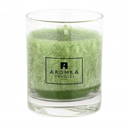 Přírodní vonná svíčka palmová - AROMKA - Whiskovka, 250 ml - Květ Lípy