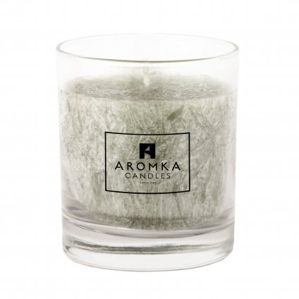 Přírodní vonná svíčka palmová - AROMKA - Whiskovka, 200 ml - Kopřiva