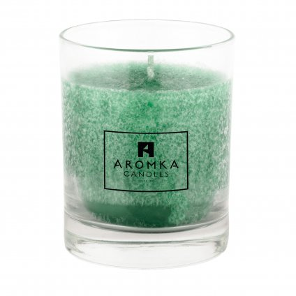 Přírodní vonná svíčka palmová - AROMKA - Whiskovka, 250 ml - Aloe Vera