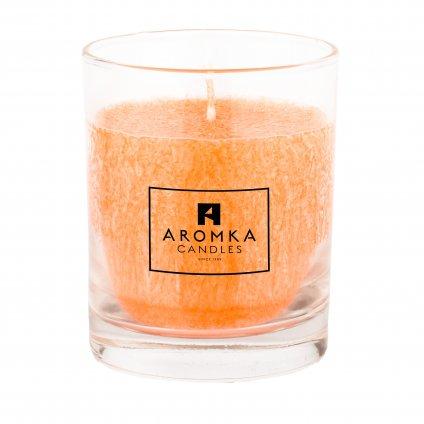 Přírodní vonná svíčka palmová - Whiskovka, 250 ml - Lady