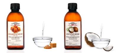 Nová přírodní aromata - kokosové a karamelové