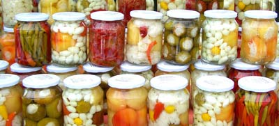 Zavařování zeleniny
