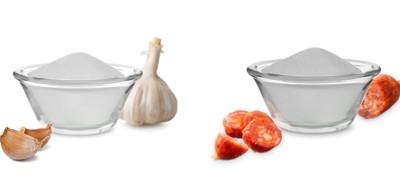 Horké novinky - prášková aromata česnek a čabajka