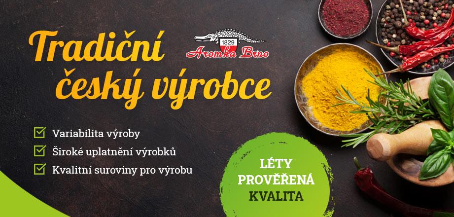Tradiční český výrobce