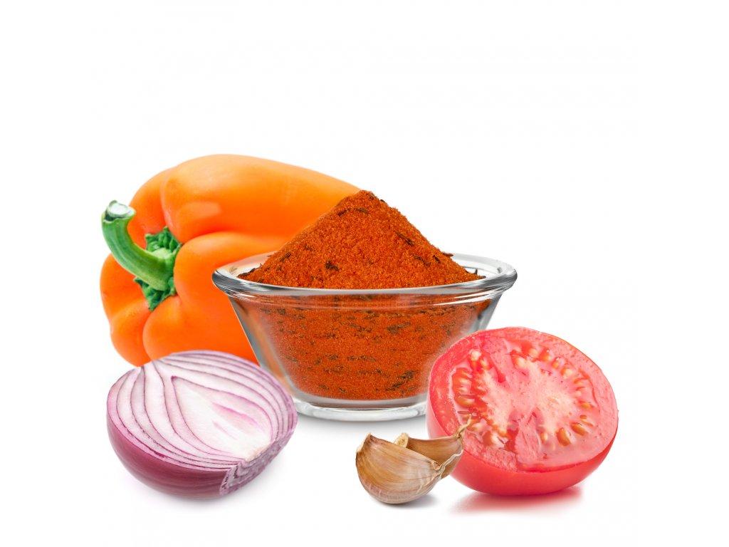 Zeleninové lečo extrakt koření