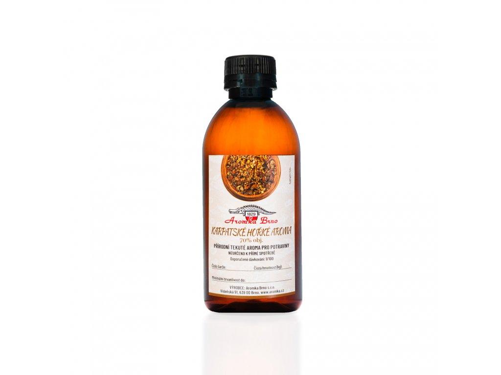 Karpatské hořké aroma 70% 260ml