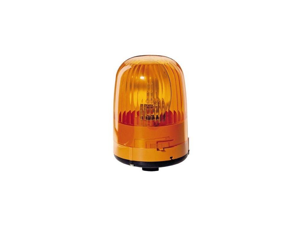 Maják na tyč 12 V, oranžový JUNIOR FL